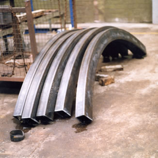 section bending indoors